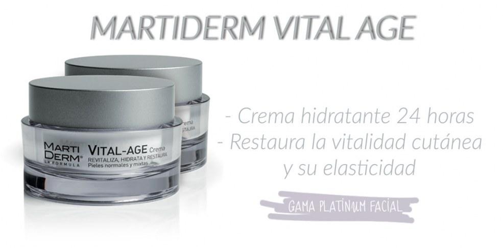 Martiderm Vital Age S y N Crema antiedad piel seca y piel mixta