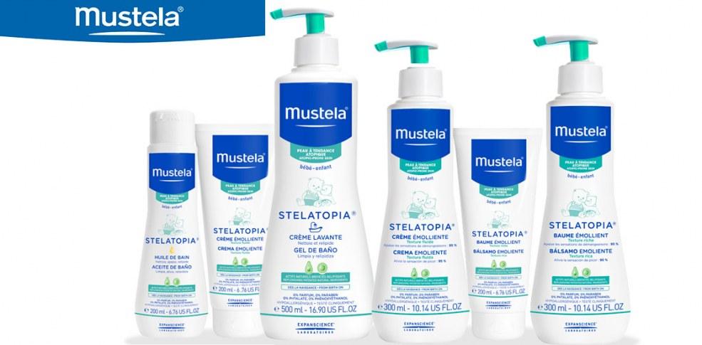 Mustela Stelatopia. ¡Di Stop Atopia!