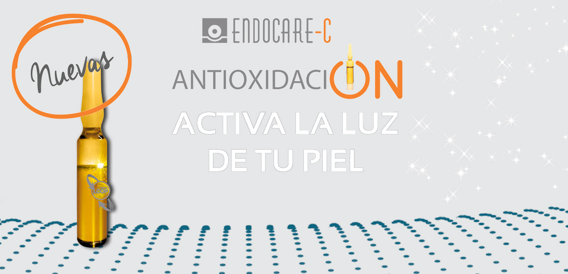¿Piel apagada? Ampollas Endocare C Proteoglicanos oil free