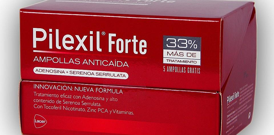 Pilexil Ampollas Forte Anticaída