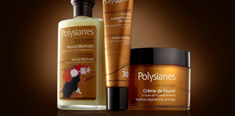 Polysianes, bronceado espectacular y pieles radiantes