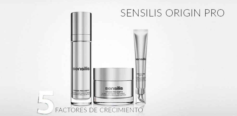 Sensilis Origin-Pro EGF 5 ¡Prolonga tu belleza original!
