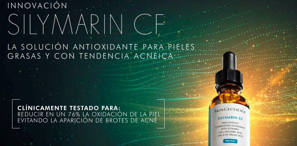 Serum Silymarin CF de SkinCeuticals | El nuevo serum para piel grasa y acné