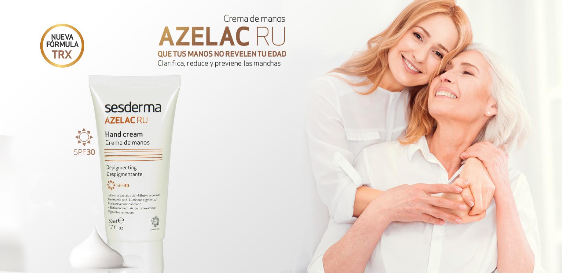 Sesderma Azelac RU Crema de manos antiedad despigmentante