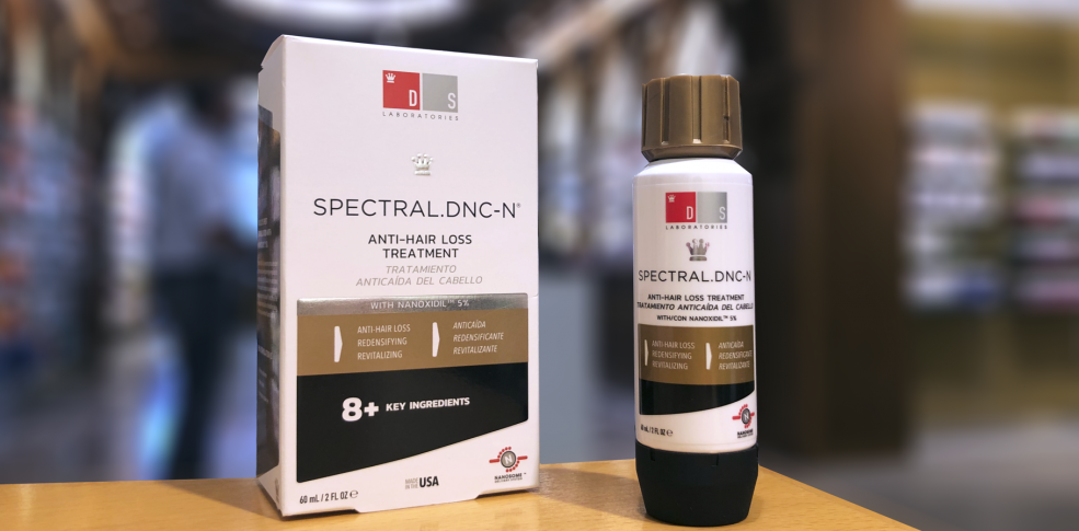 Spectral DNC-N, el tratamiento Anticaída con Nanoxidil