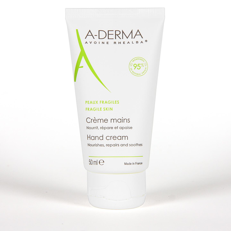 A-Derma Crema de Manos Reparación Intensa 50 ml