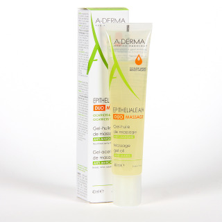 A-Derma Epitheliale AH DUO Massage Gel-Aceite 40 ml