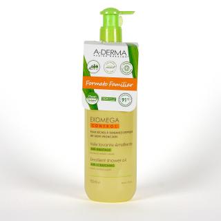 A-Derma Exomega Aceite de Ducha y Baño Formato Familiar 750 ml