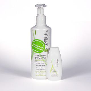 A-Derma Exomega promoción Crema 400ml + A-derma Exomega aceite regalo