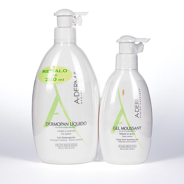 A-derma Dermopan líquido 500ml+regalo 250ml
