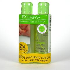 A-Derma Exomega Gel Limpiador Cuerpo y Cabello 500 ml Duplo