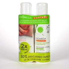 A-Derma Exomega Duplo Gel limpiador emoliente 500 ml Duplo