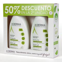 A-derma Gel de Ducha Hidraprotector 500 ml pack duplo