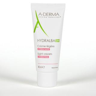 A-Derma Hydralba 24h Crema Hidratante Ligera 40 ml