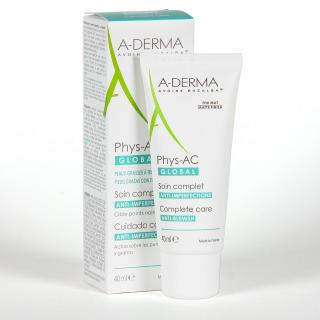 A-Derma PHYS-AC Global Crema Anti-Imperfecciones 40 ml