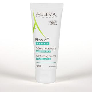 A-Derma PHYS-AC Hydra Crema Compensadora 40 ml
