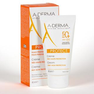 A-Derma Protect Crema SPF50+ Sin Perfume 40 ml
