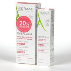 A-Derma Rheacalm Crema Rica + Contorno de ojos 20% DTO