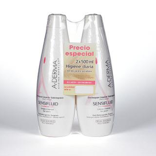 A-Derma Sensifluid Dermopan líquido sobregraso Duplo