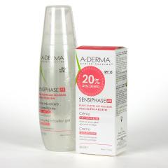 A-Derma Sensiphase AR Antirojeces Gel Micelar + Crema SPF 15 Pack 20% Descuento