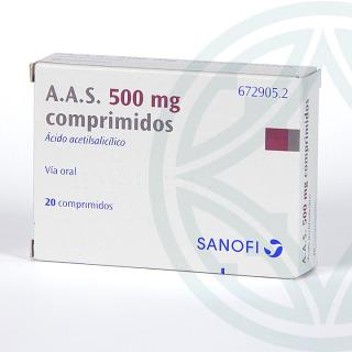 AAS 20 comprimidos