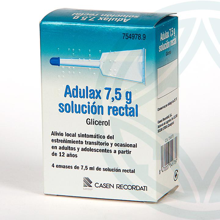 Adulax Solución Rectal 4 enemas