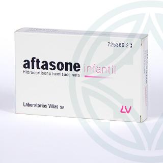 Aftasone Infantil 12 pastillas para chupar
