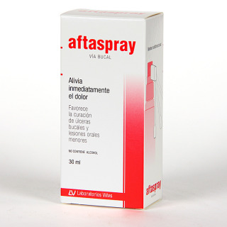 Aftaspray llagas bucales 30 ml