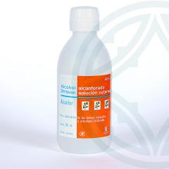 Alcohol Alcanforado Orravan solución tópica 250 ml