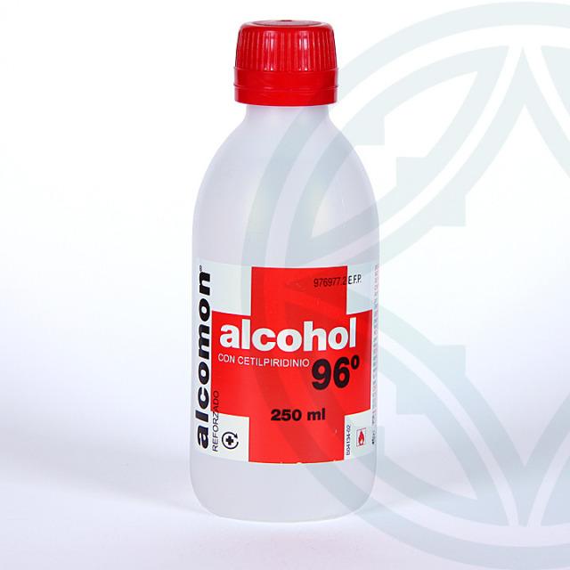 Alcomon Alcohol Reforzado 96º solución tópica 250 ml