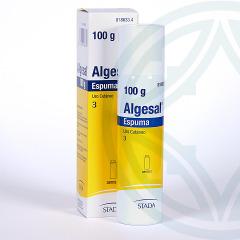 Algesal espuma aerosol 100 g