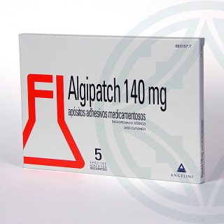 Algipatch 140 mg 5 apósitos