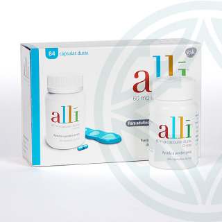 Alli 60 mg 84 cápsulas