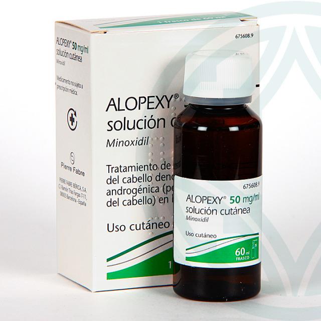 Alopexy 50 mg/ml solución tópica 60 ml