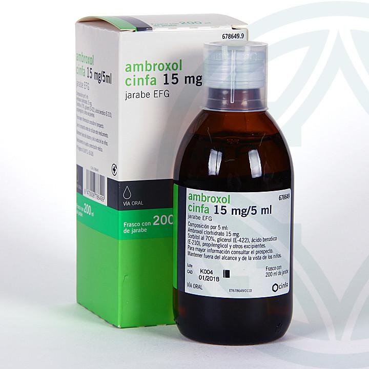 Ambroxol Cinfa EFG Jarabe 200 ml