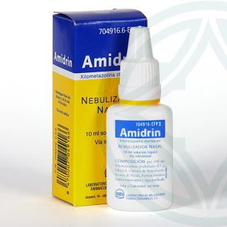 Amidrin 1mg/ml nebulizador nasal 15 ml