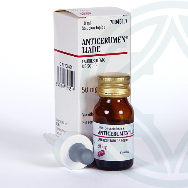 Anticerumen Liade gotas 10 ml