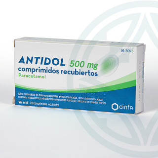 Antidol 500 mg 20 comprimidos