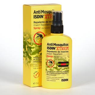 Antimosquitos Isdin Xtrem Spray Repelente de insectos 75 ml