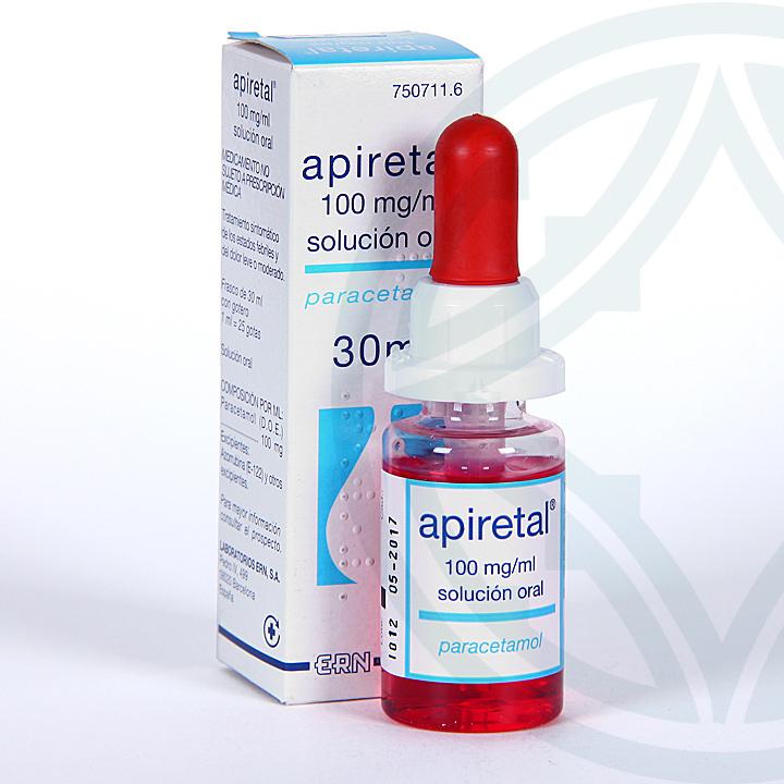 Apiretal solución oral 30 ml