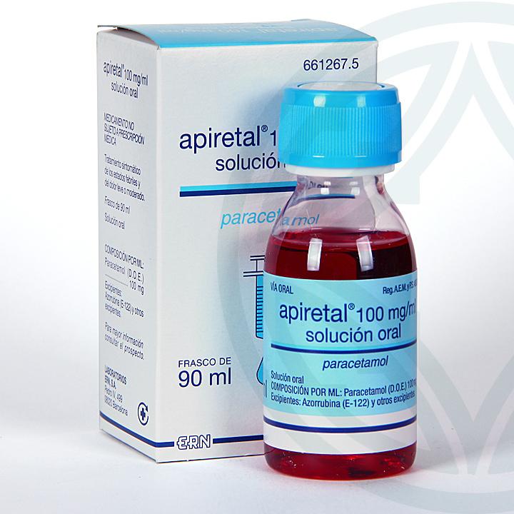 Apiretal 100 mg/ml solución oral 90 ml