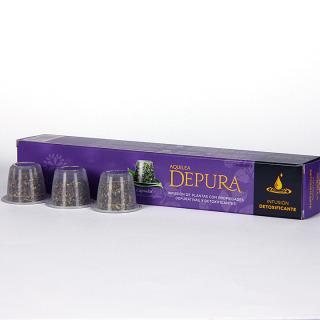 Aquilea Depura 7 cápsulas Nespresso infusión detoxificante