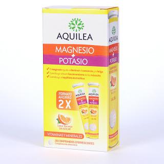 Aquilea Magnesio + Potasio 28 comprimidos efervescentes Pack