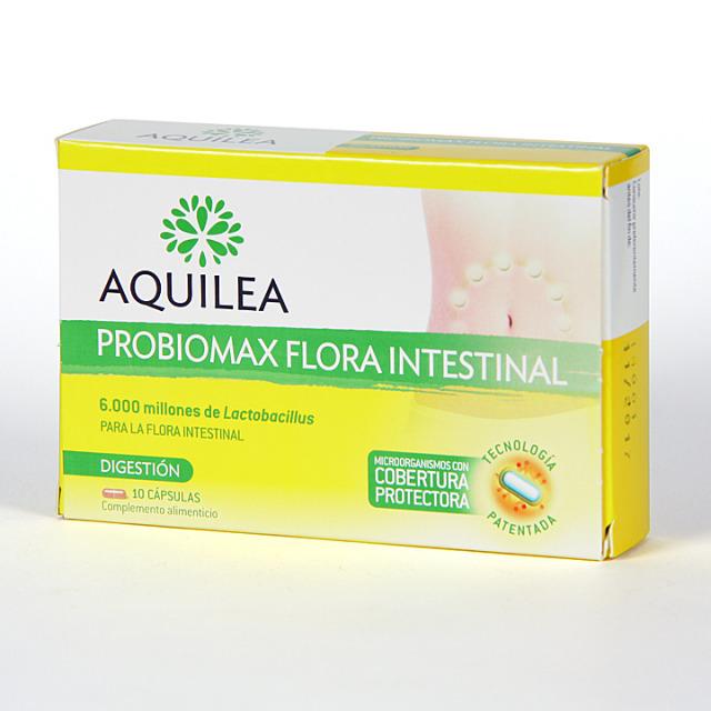 Aquilea Probiomax Flora Intestinal 10 cápsulas