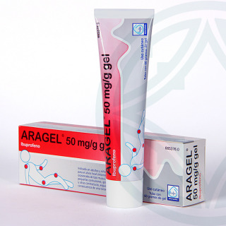 Aragel 50 mg/g gel tópico 60 g