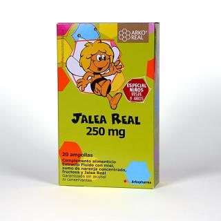 Arko Real Jalea Real 250 mg 20 ampollas