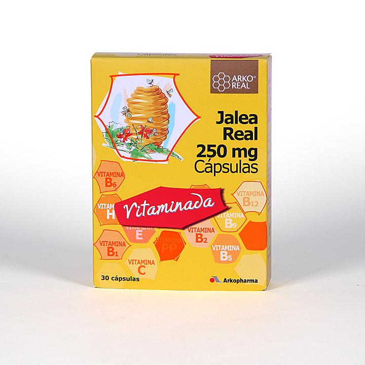 Arko Real Jalea real 250 mg Vitaminada 30 capsulas