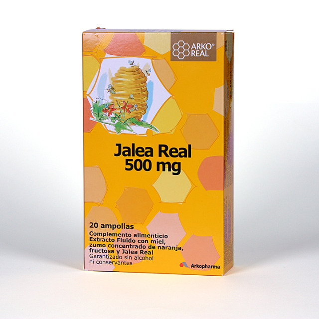 Arko Real Jalea real 500 mg 20 ampollas