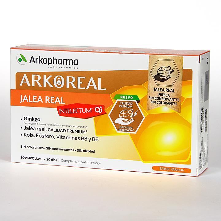 Arko Real Jalea Real Intelectum 20 ampollas