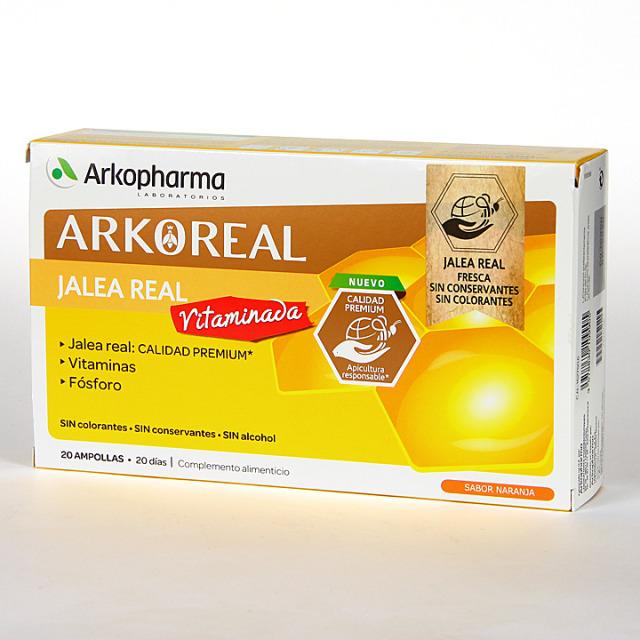 Arko Real Jalea Real Vitaminada 20 ampollas